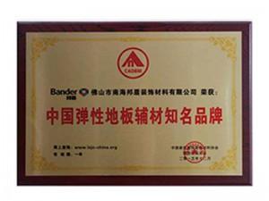 2015年中国弹性地板辅材知名品牌